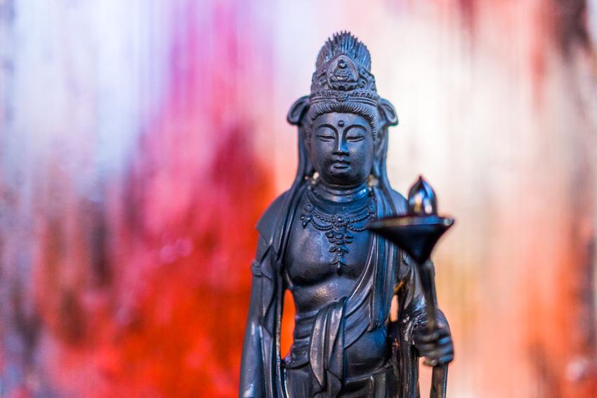 Shinshitsu art 芯漆 仏像 作品