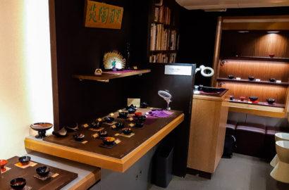 Shinshitsu Lacquer exhibition art gallery in tokyo