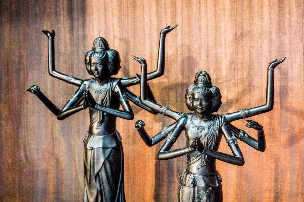 漆 阿修羅 日本唯一 Lacquer Asura Art lasts forever