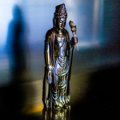 芯漆 聖観音像 lacquer art statue wajima japan